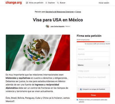 The petition at change.org.