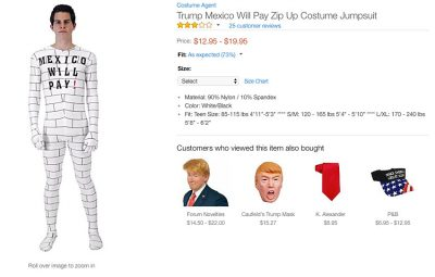 The jumpsuit sold on Amazon.