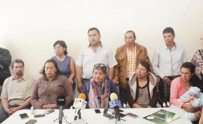 Unhappy family members give a press conference.