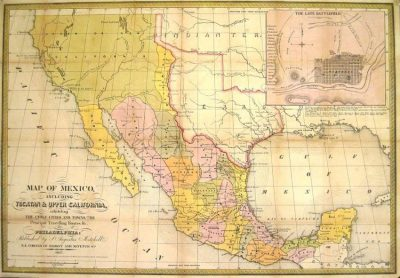 Mexico before the 1848 treaty.