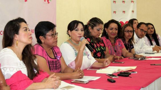 Oaxaca women announce launch of new party.