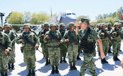 Soldiers will focus on Culiacán and Mazatlán.