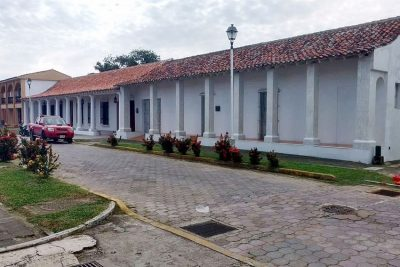 Javier Duarte's house in picturesque Tlacotalpan.