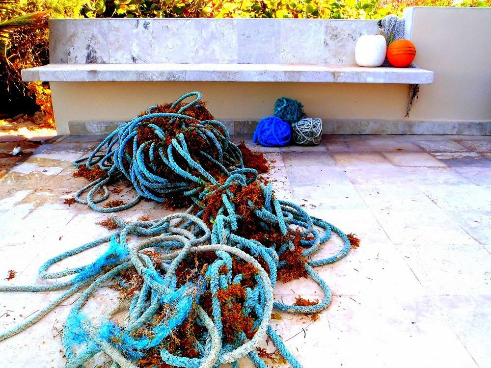 The rope, as it was found.