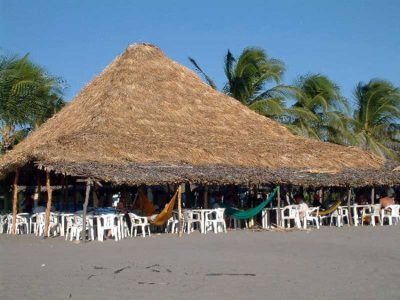 Palapa restaurant: good for a cultural adventure.