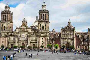 The Metropolitan Cathedral, one of countless attractions in Mexico City.