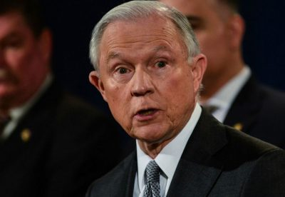 Sessions: needs to catch up on his reading.