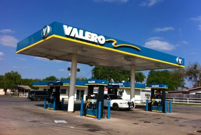 The Valero logo could be coming to some Mexican gas stations.
