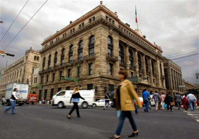 Mexico's central bank headquarters.