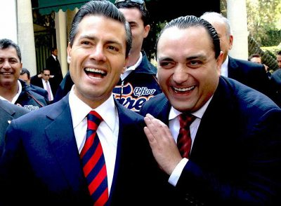 President Peña Nieto and Borge: things are different today.