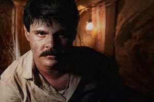The actor who plays El Chapo on a new TV series.