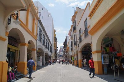 Cuernavaca's historic center.