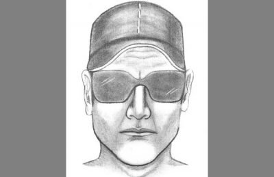 Sketch of a suspect in the kidnapping