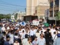 Marchers in Torreón on Sunday.