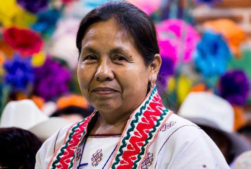 Marichuy, indigenous candidate for president.