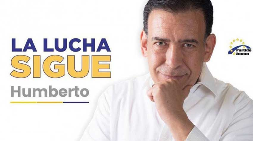 'The struggle continues,' reads Moreira' campaign publicity.