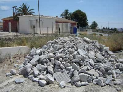 Rubble is a fixture of most construction sites.