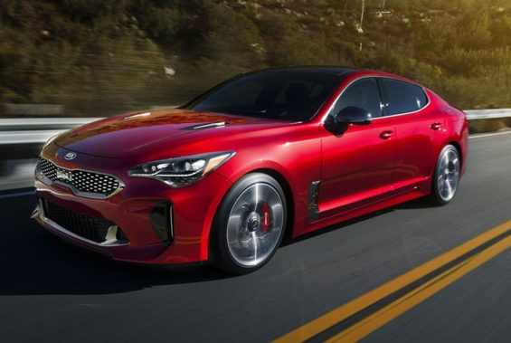 KIA Stinger, to be sold — and built — in Mexico.