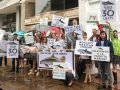 A save-the-vaquita rally today in Washington, D.C.