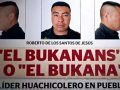 Wanted poster for 'El Bukanas.'