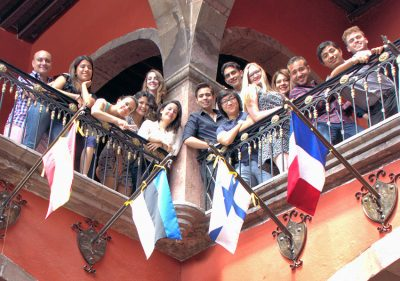 Some of the opera students who will perform Saturday in San Miguel.
