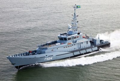 Dutch-built Damen patrol vessels are used by the Mexican Navy.