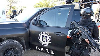 GATE is a special tactical force and one of those accused of colluding with the Zetas.