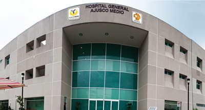 The hospital where baby's body disappeared.