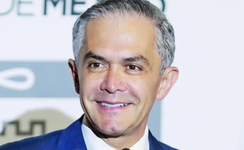Mancera, a favorite for president.
