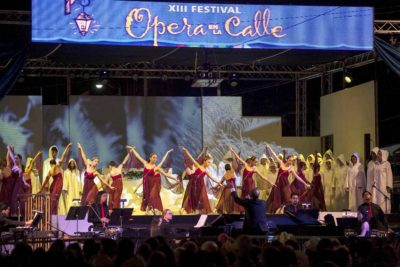 Scene from last year's opera festival in Tijuana.