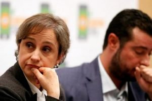 Spyware targets Aristegui and human rights worker Mario Patrón.