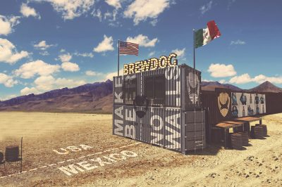 BrewDog's border bar concept.