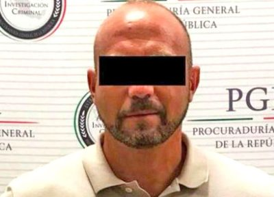 Cevallos: wanted for cocaine trafficking.