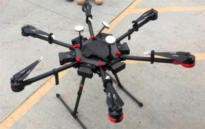The drone found by border patrol agents August 8.