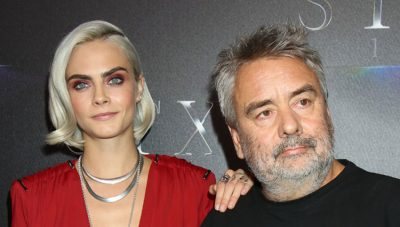 Delevingne and Besson: cinema tells who you are.