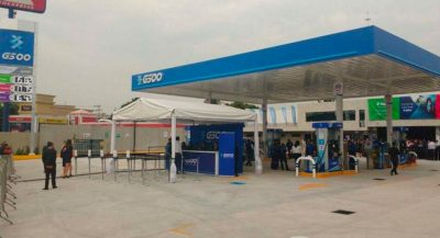 The first G500 gas station opened today in Tlalnepantla, state of México.