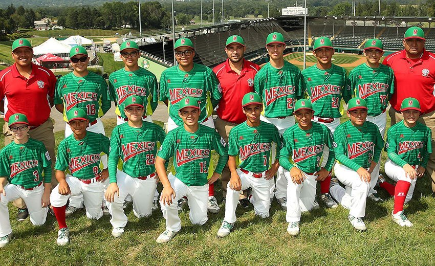 Mexico's team at the Little League World Series.
