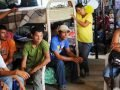 Migrants at a detention center in Chiapas.