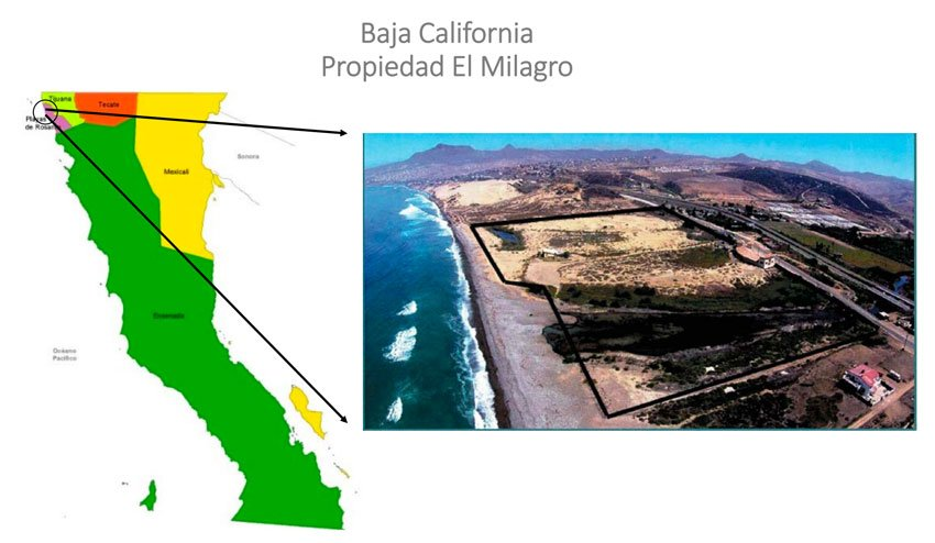 Hotel and residential development in Baja California is one of the 16 projects.