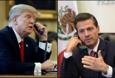 Trump and Peña Nieto: transcript offers details of a January phone call.