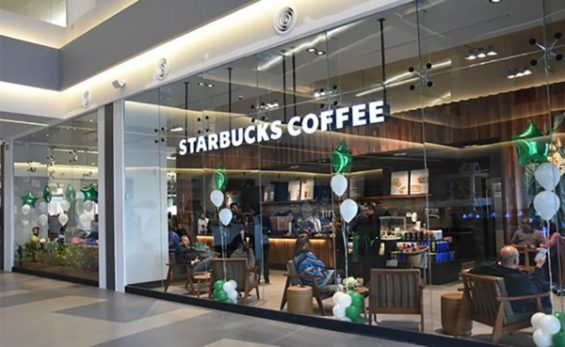 Starbucks' new cafe in Tlaxcala, its first in the state.