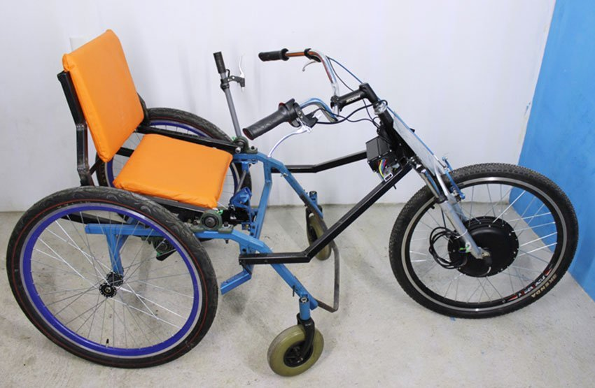 Montes' new tricycle.