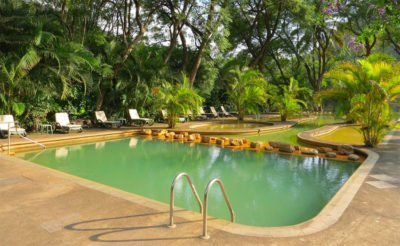 Along with the butterflies, hot springs can be enjoyed in Agua Blanca.