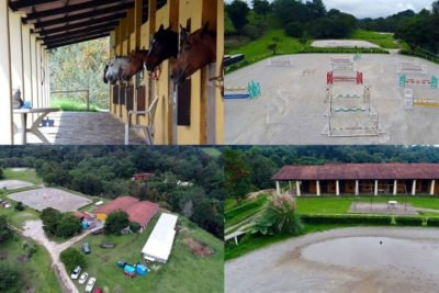 The equine club allegedly owned by the wife of ex-governor Duarte.