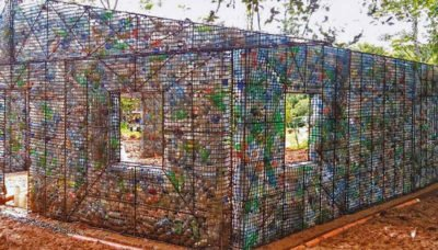 PET plastic houses have been proposed for earthquake victimes.