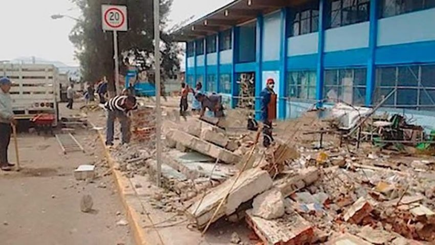 This school in Ecatepec might not make the grade.