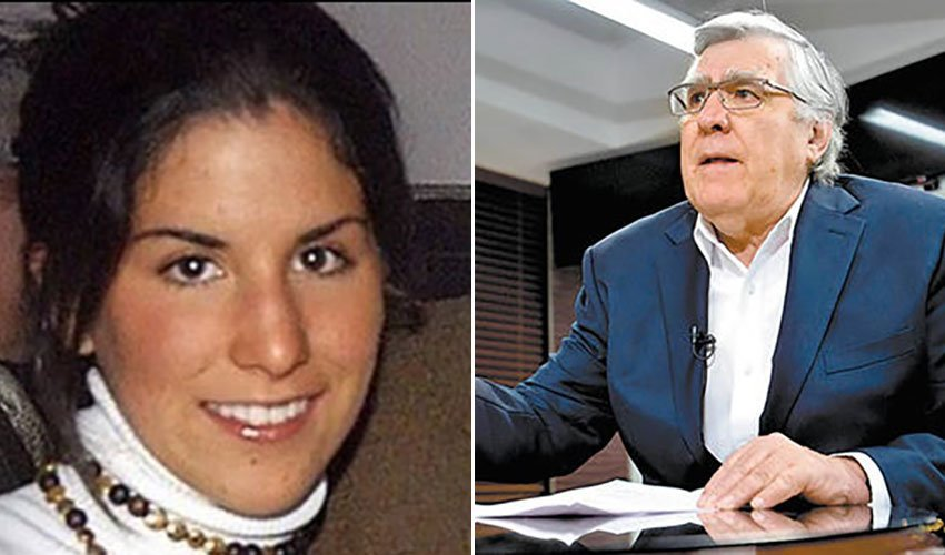 Murder victim Silvia Vargas and her father.