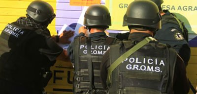 GROMS police in Coahuila: two are facing murder charges.