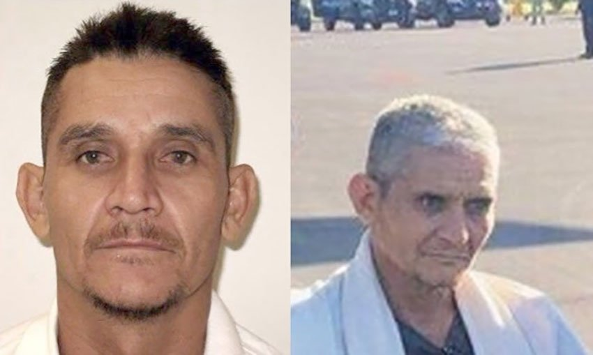 Jaramillo in 2012, left, and this week, following his arrest.