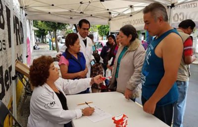 HIV testing in Mexico City this week.